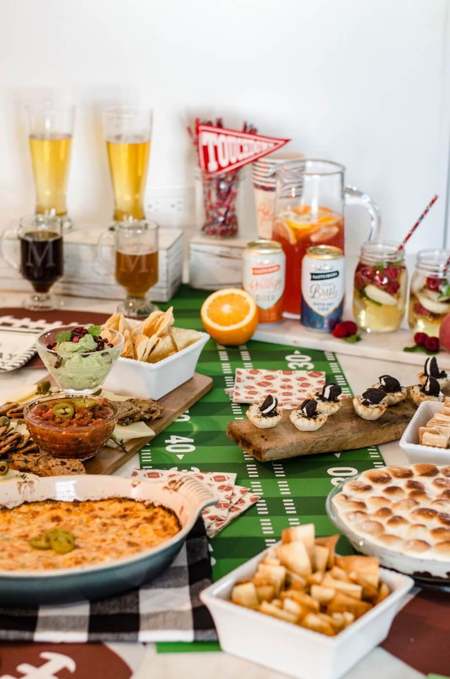 Hosting A Super Bowl Party: My Recipes & Styling Must-Haves