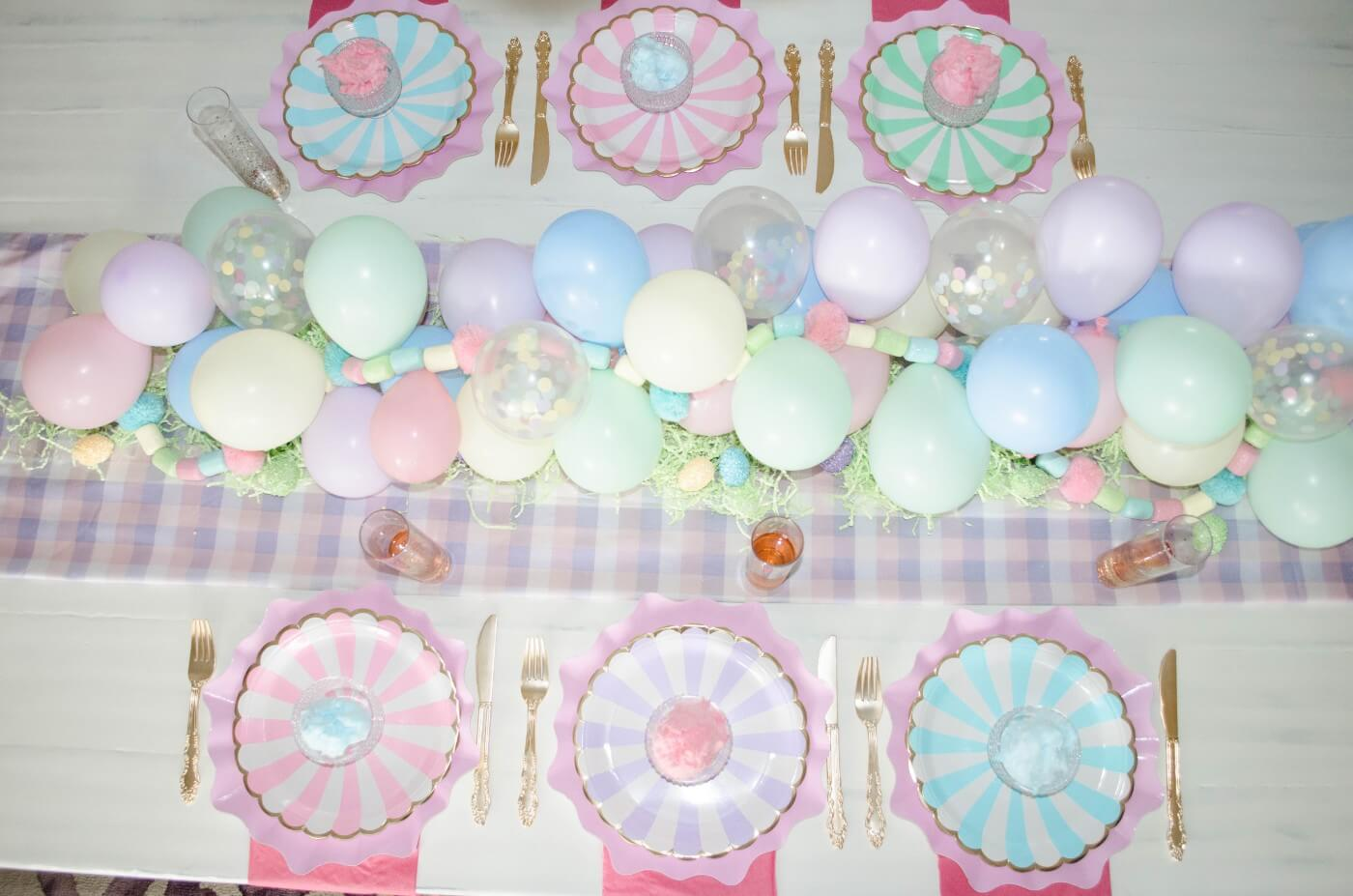 Spring/Easter Tablescape Ideas with Glamfetti Co!
