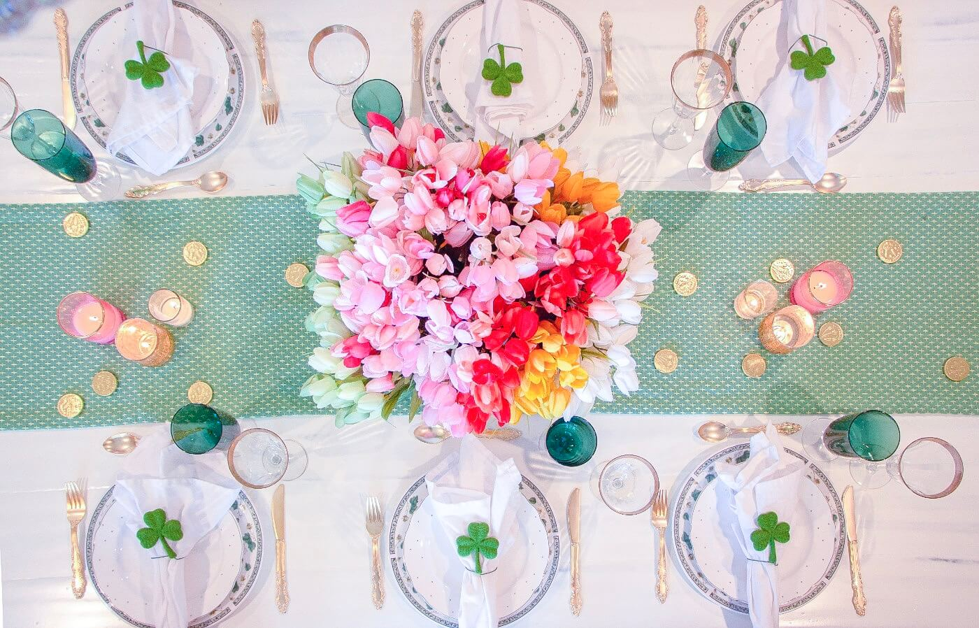 I'm so Lucky to have You – St. Patricks Day Tablescape