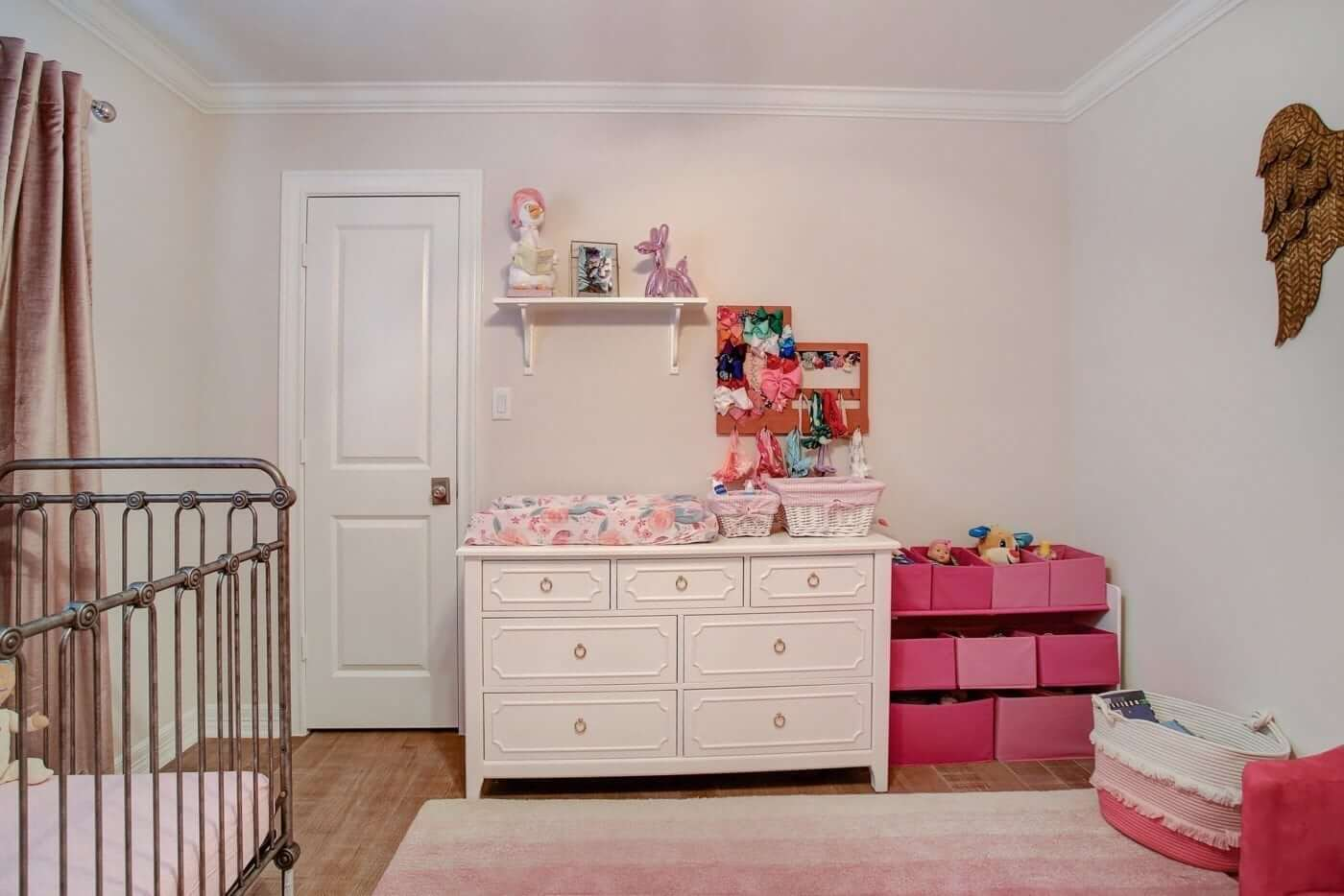 Pink Ombre Girls Nursery!
