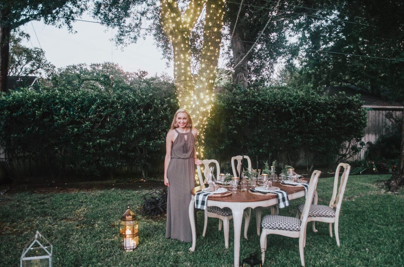 Autumn Dinner Under the Stars