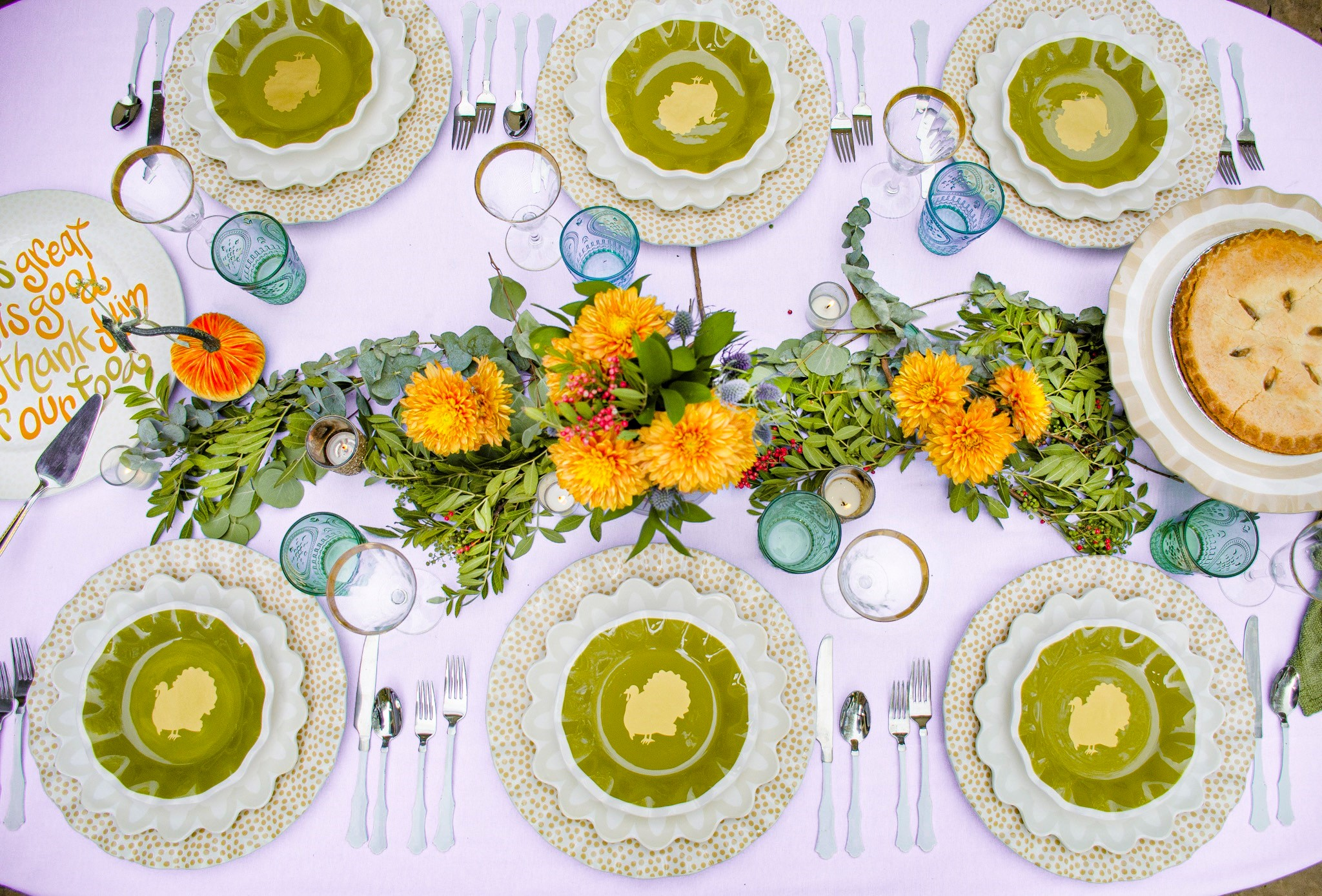 Thanksgiving Table Styling with Coton Colors