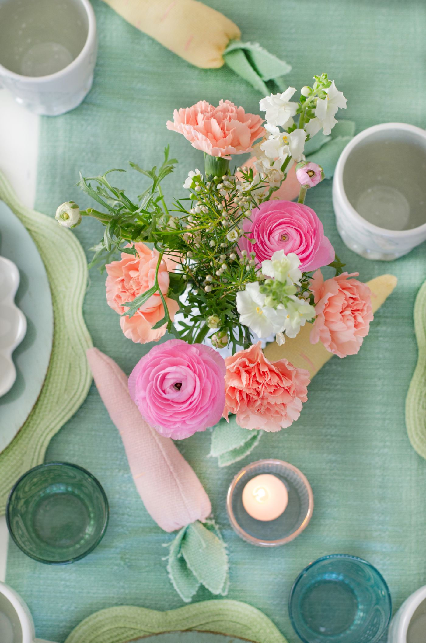Easter Table Styling With Coton Colors